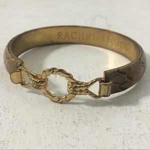 Rachel Leigh Faux Snake Skin Bracelet